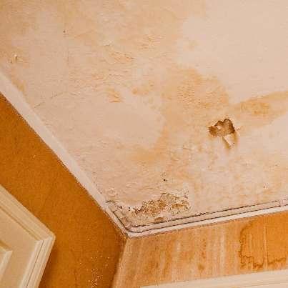 Infiltrazioni sul soffitto, chi è responsabile del risarcimento dei danni?